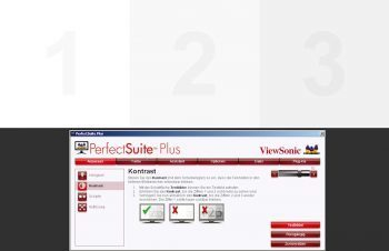 Viewsonic Vp2650wb Monitor Viewsonic Vp2650wb Software Perfectsuite Plus Anpassen Kontrast