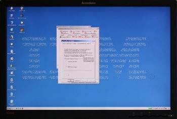 Lenovo L2440p Monitor Video Bildqualitaet Analog 1080i