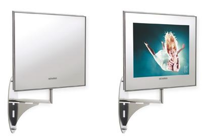 ad notam Bathroom Twister Line: TV Genuss im Badezimmer - Prad.de
