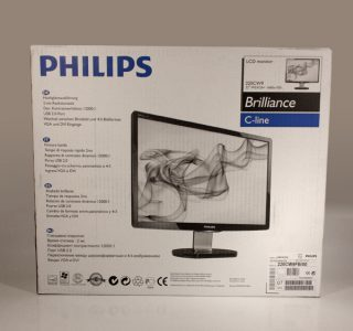 Philips 220cw9fb Monitor Philips 220cw9fb Karton
