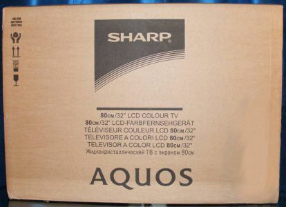 Sharp Lc 32le700e Fernseher Lc32le700e Verpackung2