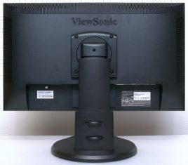 Viewsonic Vp2365wb Monitor Hinten