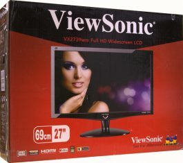 Viewsonic Vx2739wm Monitor Karton