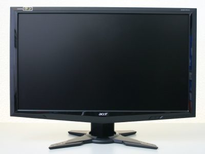 Acer Gd245hqbid Monitor Acer Front