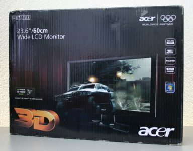 Acer Gd245hqbid Monitor Verpackung