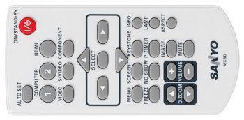 Sanyo Plc Wl2503 Beamer Remote