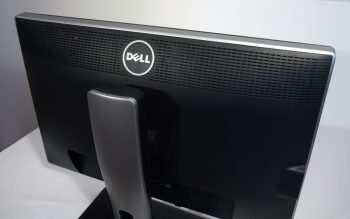 Dell U2412m Monitor Logo Rueckseite