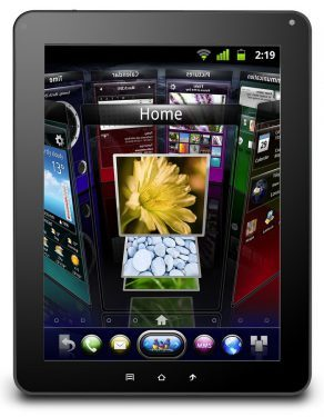 Acer Iconia Tab A100 Tablet Front2