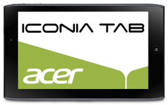 Acer Iconia Tab A100 Vorderansicht