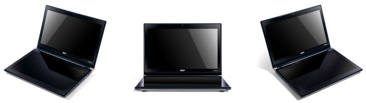 Acer Iconia von vorn
