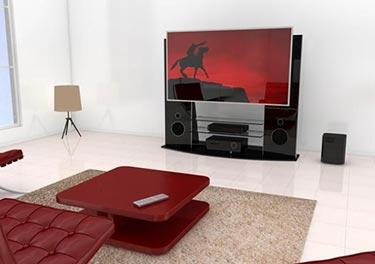 Tv Möbel Mit Eingebautem Soundsystem Von Casado Pradde