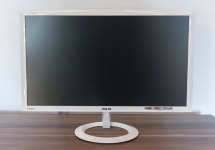 Asus Vx238h W Monitor Front