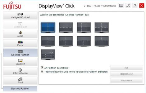 Fujitsu B27t 7 Led Monitor Displayview1