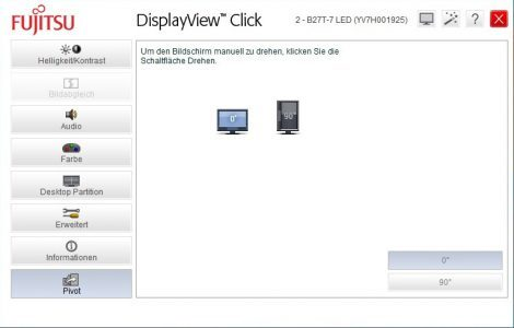 Fujitsu B27t 7 Led Monitor Displayview2