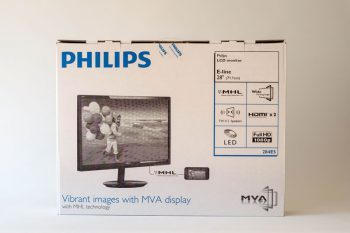 Philips 284e5qhad Monitor Karton