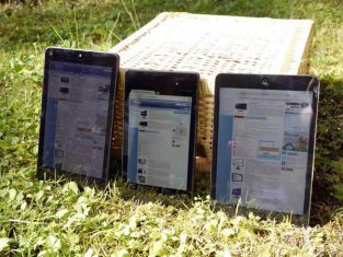 Asus Memo Pad 7 Tablet Outdoor2