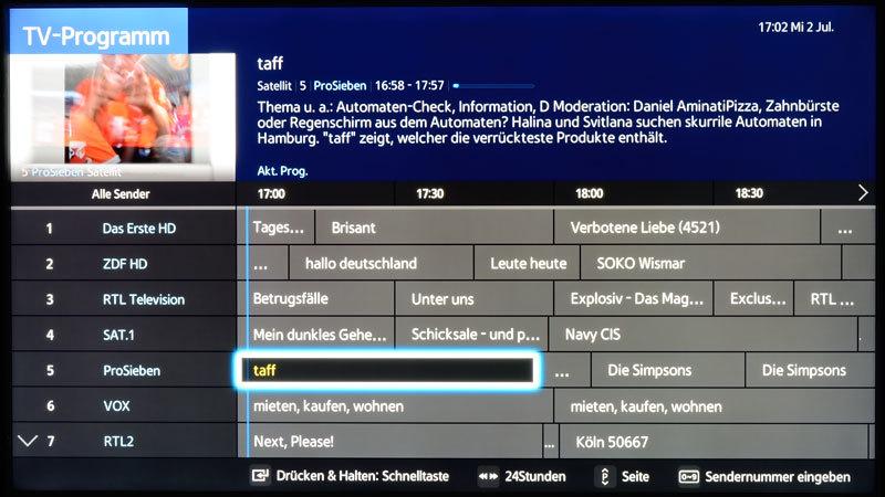 Meine Tv Programme Samsung