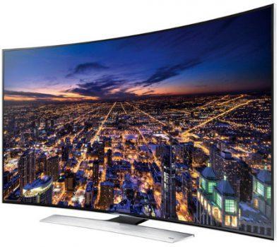 65 Zoll Samsung UE65HU8500 TV, ebenfalls Curved