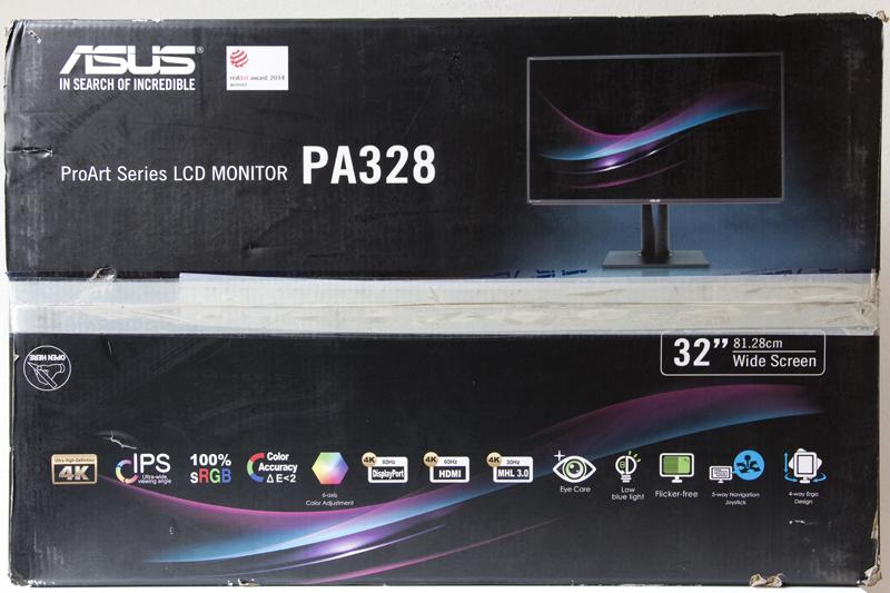 Test Monitor Asus PA328Q - Prad de