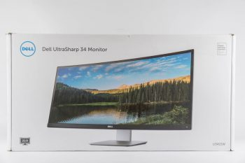 Dell U3415w Monitor Karton