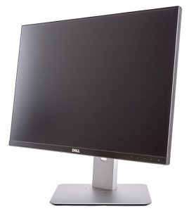 Dell U2415 Monitor Ansicht Diagonal