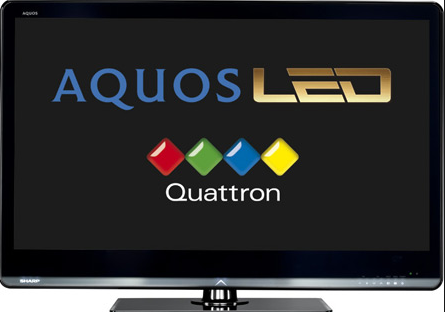 AQUOS LED TV von Sharp mit Quattron-Technologie