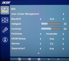 Acer Be270ua Monitor Osd02