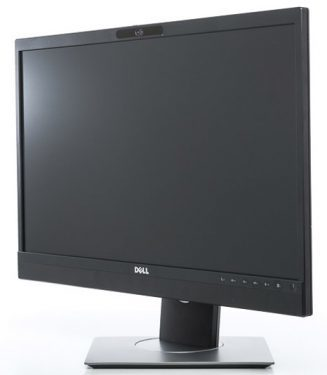 Dell P2418hz Monitor Ansicht Drehung Links