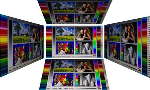 Blickwinkel (links, rechts, oben und unten)
