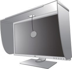 Benq Sw320 Monitor ScreenS Hood Oeffnung
