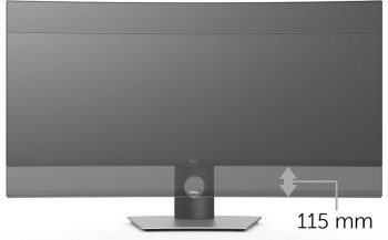 Dell U3818dw Monitor Screens Ergonomie 1