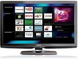 Philips-TV mit integrierten Web-Browser