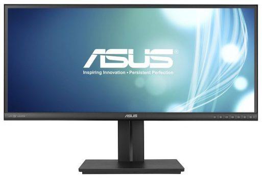 Bild zeigt einen 21:9-Monitor mit IPS-Panel von Asus