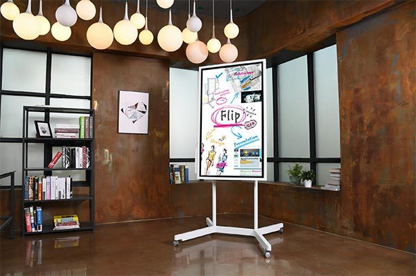 "Samsungs digitaler Flipcharts ""Flip"""