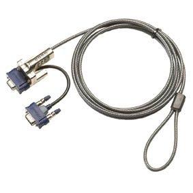 Sicherungssystem (Kabel) von Targus mit 4-stelligem Kombinationsschloss