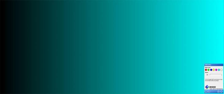 Präzise Darstellung von Farbverläufen