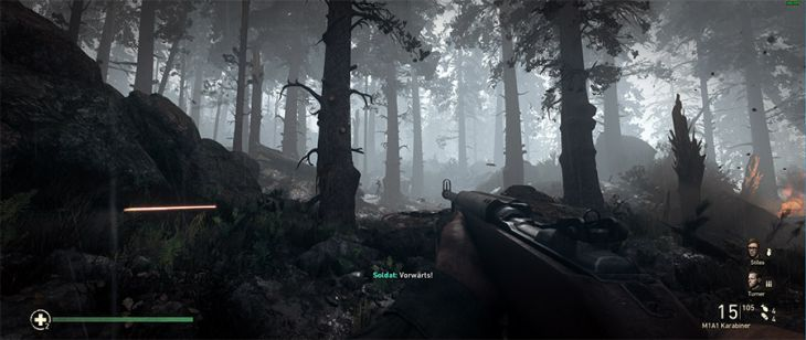 "Screenshots aus dem First-Person-Shooter ""Call of Duty: WWII"""