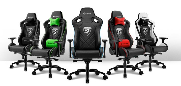 Sharkoon SKILLER SGS4 Gaming Seat
