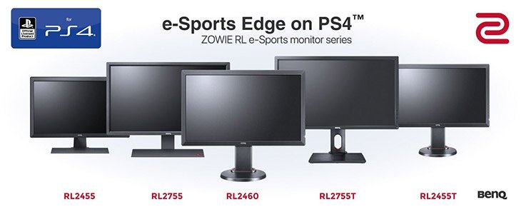 ZOWIE Produktsortiment Monitore