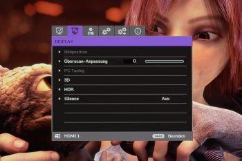 OSD: Display-Einstellungen