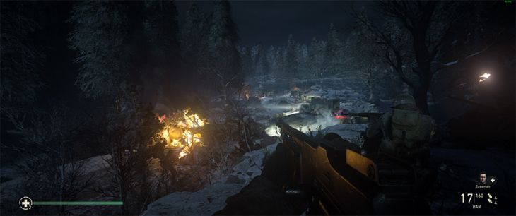 "Szene aus dem First-Person-Shooter ""Call of Duty: WWII"""