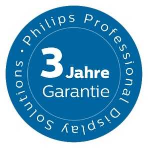 Philips Garantie-Siegel