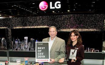 LG CES 2019 Auszeichnungen