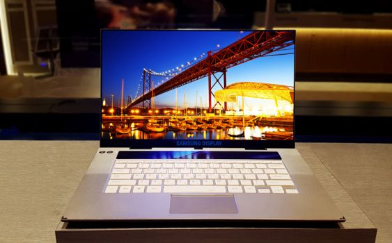 Samsung OLED-Notebook-Panel (Bild: Samsung Display)