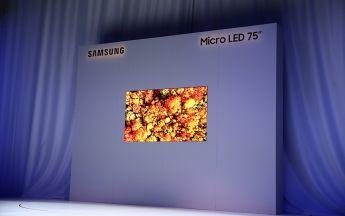Samsung MicroLED Fernseher