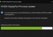 NVIDIA-Firmware-Update: Systemprüfung