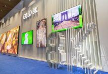 Samsung 8K QLED Displays (Bild: Samsung)