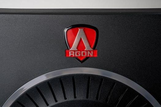 Optisch gelungener Farbakzent in Form des AOC-Gaming-Logos