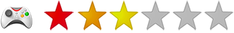 Wertung Anwendungsbereich Gaming 3 Sterne