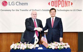 Deal von LG Chem und DuPont (Bild: Korea Times)